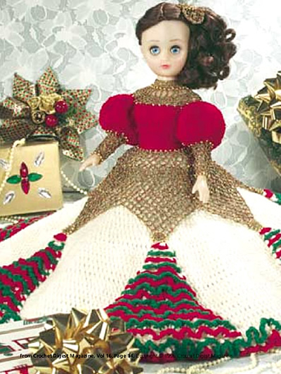 Crochet Pattern American Girl Doll : More Bed Dolls and Music Box Dolls to Crochet free ...