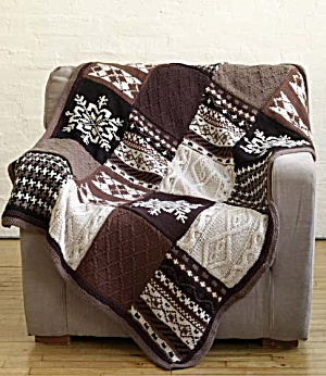 One Dozen More Christmas Afghans to Knit - free patterns ...