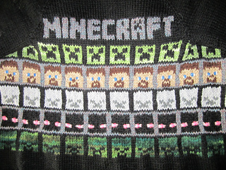 Minecraft!   free patterns to knit and crochet   Grandmothers Pattern Book