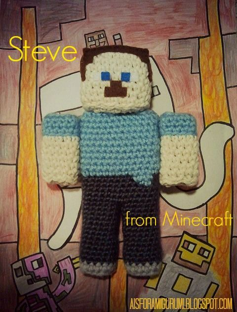 Amigurumi Free Pattern Owl : Minecraft! free patterns to knit and crochet ...
