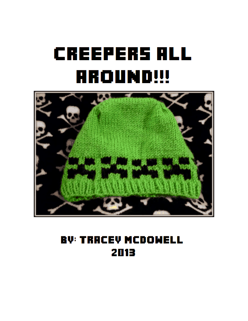 Minecraft! – free patterns to knit and crochet – Grandmother\'s ...