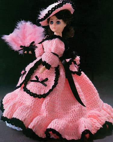 Contemporary Free Crochet Bed Doll Dress Patterns Collection Easy