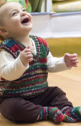 Knitting For Baby S First Christmas Free Patterns