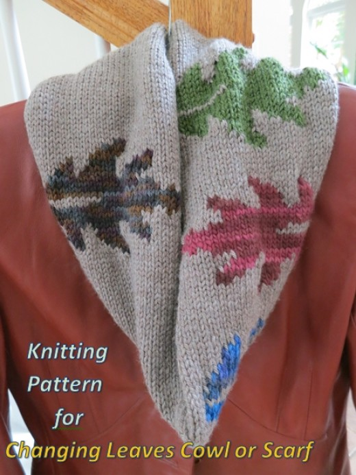 0727ef877  from the archives – Leaves to Knit for Autumn – 16 free patterns