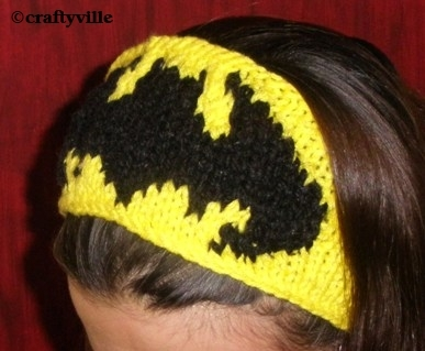 Knitting Pattern Batman Scarf : Knit Superheroes   free patterns   Grandmothers Pattern Book