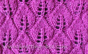 leaves-of-lace-knitting-stitch-free