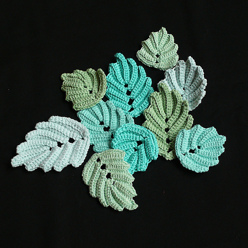 Autumn Leaves And Leaf Designs To Crochet 34 Free