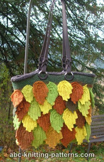 Autumn Leaves and Leaf Designs to Crochet – 34 free patterns