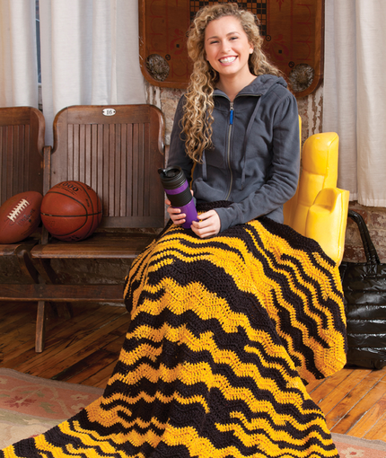 Crochet Beautiful Fall Afghans Blankets And Throws Free