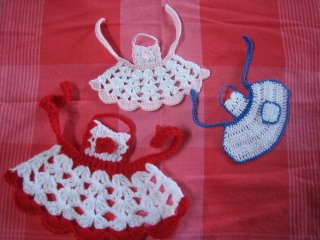 Pretty In The Kitchen Knit Or Crochet An Apron Free