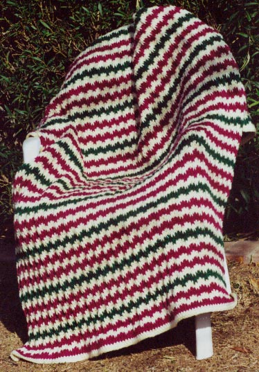Christmas Afghans and Pillows to Knit Now   free patterns   Grandmothers...