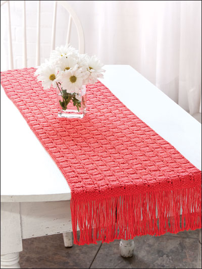 Knit Table Runners Free Patterns Grandmothers Pattern Book
