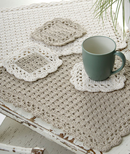 Crocheting Placemats : Place Mats to Crochet for Your Autumn Kitchen - Grandmothers ...