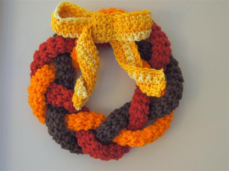 Free Crochet Pattern For Christmas Wreath : More Crochet for Thanksgiving ? free patterns ...