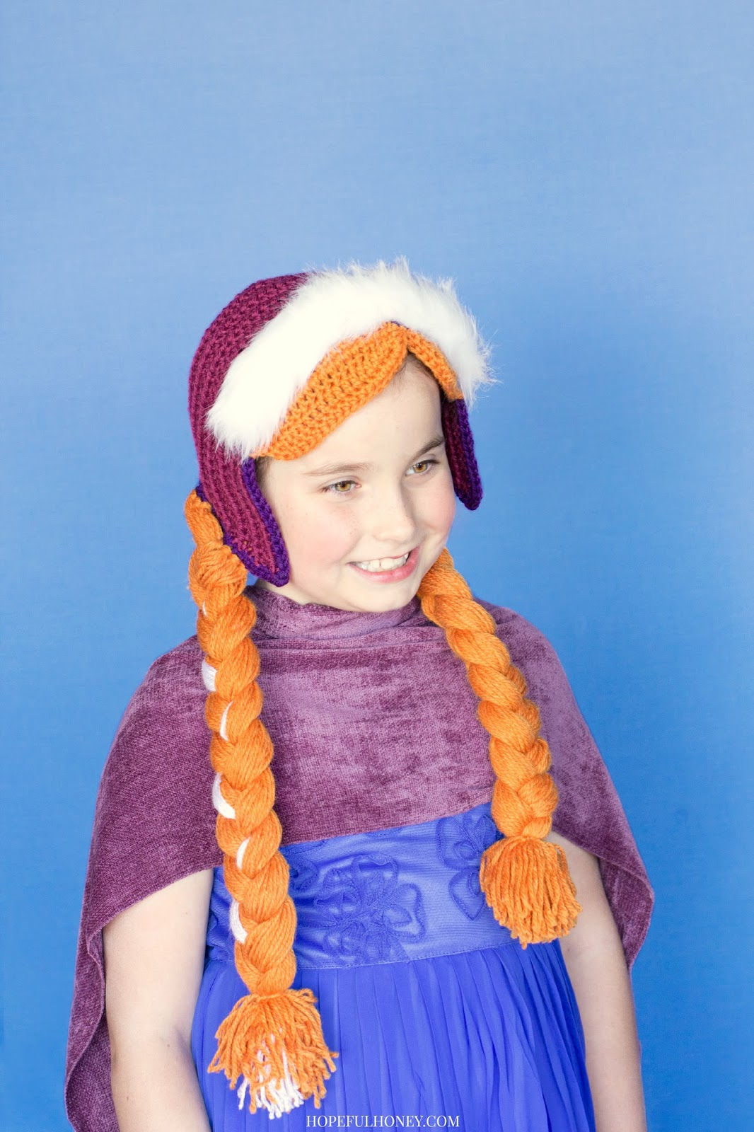 Crochet Pattern Anna Hat : Frozen Inspired ? Patterns to Crochet ? free ? Grandmother ...