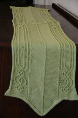 Knit Table Runners   free patterns   Grandmothers Pattern ...
