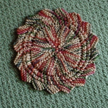 Place Mats To Knit For Your Autumn Table Grandmothers Pattern Book