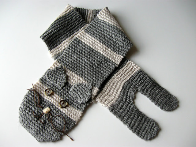 Animal Scarves To Knit Free Patterns Grandmothers Pattern Book