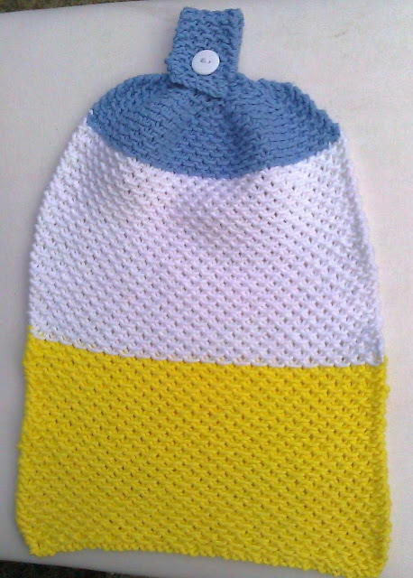 Knit Towels And Towel Toppers For Your Autumn Kitchen Free