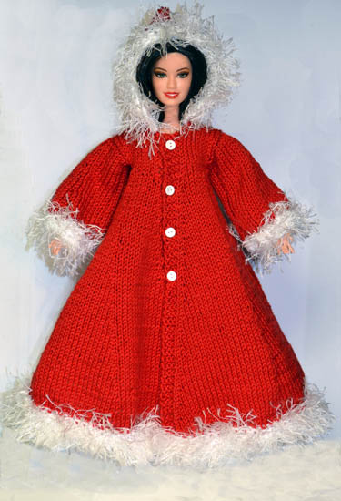 Fashion Doll Christmas Knits Free Patterns Grandmothers Pattern