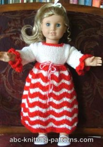 Christmas Doll Clothes To Knit Free Patterns
