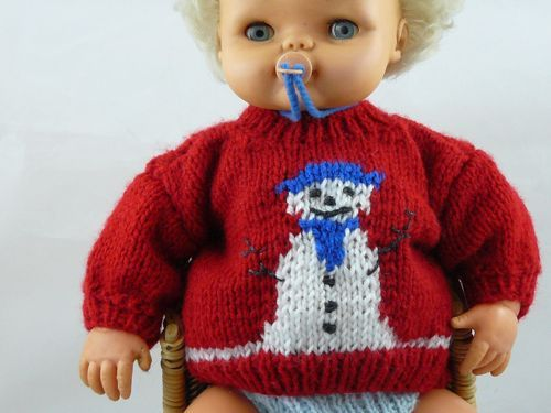 Christmas Doll Clothes to Knit – free patterns – Grandmother\'s ...