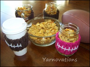 Gift in A Jar Recipes and Matching Crochet Jar Cozies! – Great Gift Ideas from Yarnovations – free patterns