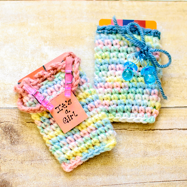 Free Crochet Pattern Baby Gifts : Gift Card Holders to Knit and Crochet ? free patterns ...