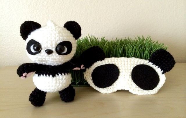 Crochet A Panda Free Patterns Grandmothers Pattern Book