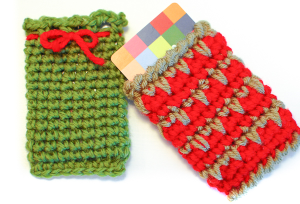 Gift card holders to knit and crochet free patterns 11 card holder with eyes knit reheart Choice Image