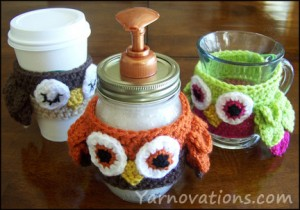 Easy Gift Ideas from Yarnovations – Gift in a Jar Recipes with Matching Crochet Jar Cozies – 24 free patterns