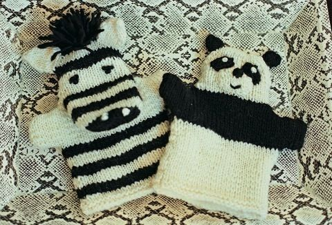Knit a Panda   free patterns   Grandmothers Pattern Book