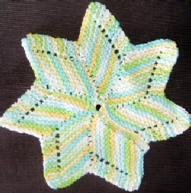 Star Knitting Pattern Free : Knit the Moon and the Stars   free patterns   Grandmothers Pattern Book