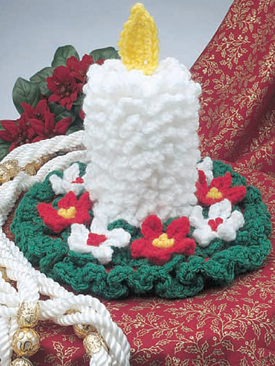 Candle Crochet Free Patterns Grandmother S Pattern Book