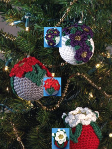Christmas Poinsettias To Crochet Free Patterns
