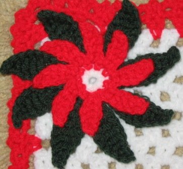 Free Crochet Patterns For Christmas Flowers : Christmas Poinsettias to Crochet ? free patterns ...