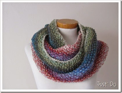 Infinity Scarf Knitting Pattern Seed Stitch : More Cowls and Infinity Scarves to Knit   free patterns ...