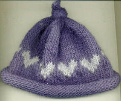 Knitting for Valentine's Day – free patterns