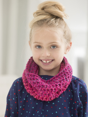 Knitting Pattern Child Infinity Scarf : More Infinity Scarves and Cowls to Crochet   free patterns ...