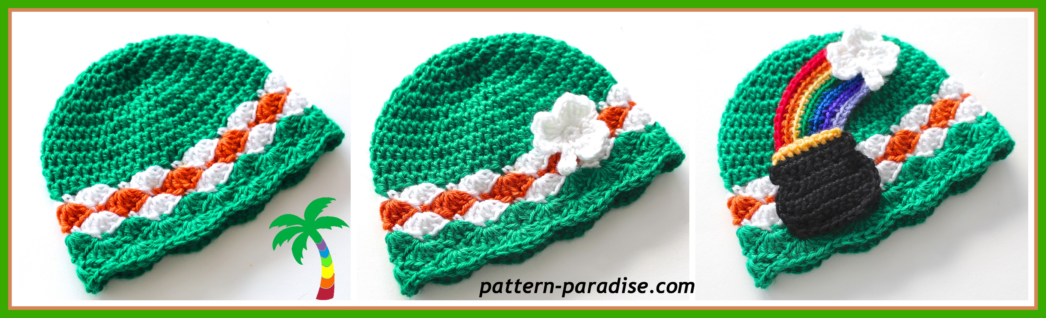 Crochet for St. Patrick\'s Day – free patterns – Grandmother\'s ...