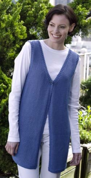 Pretty Vests to Knit for Spring – free patterns