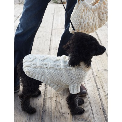 Knitting Pattern For Xs Dog Sweater : More Spring Sweaters to Knit for Your Dog   free patterns ...