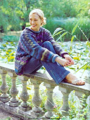 More Lovely Entrelac Knits Free Patterns Grandmother S