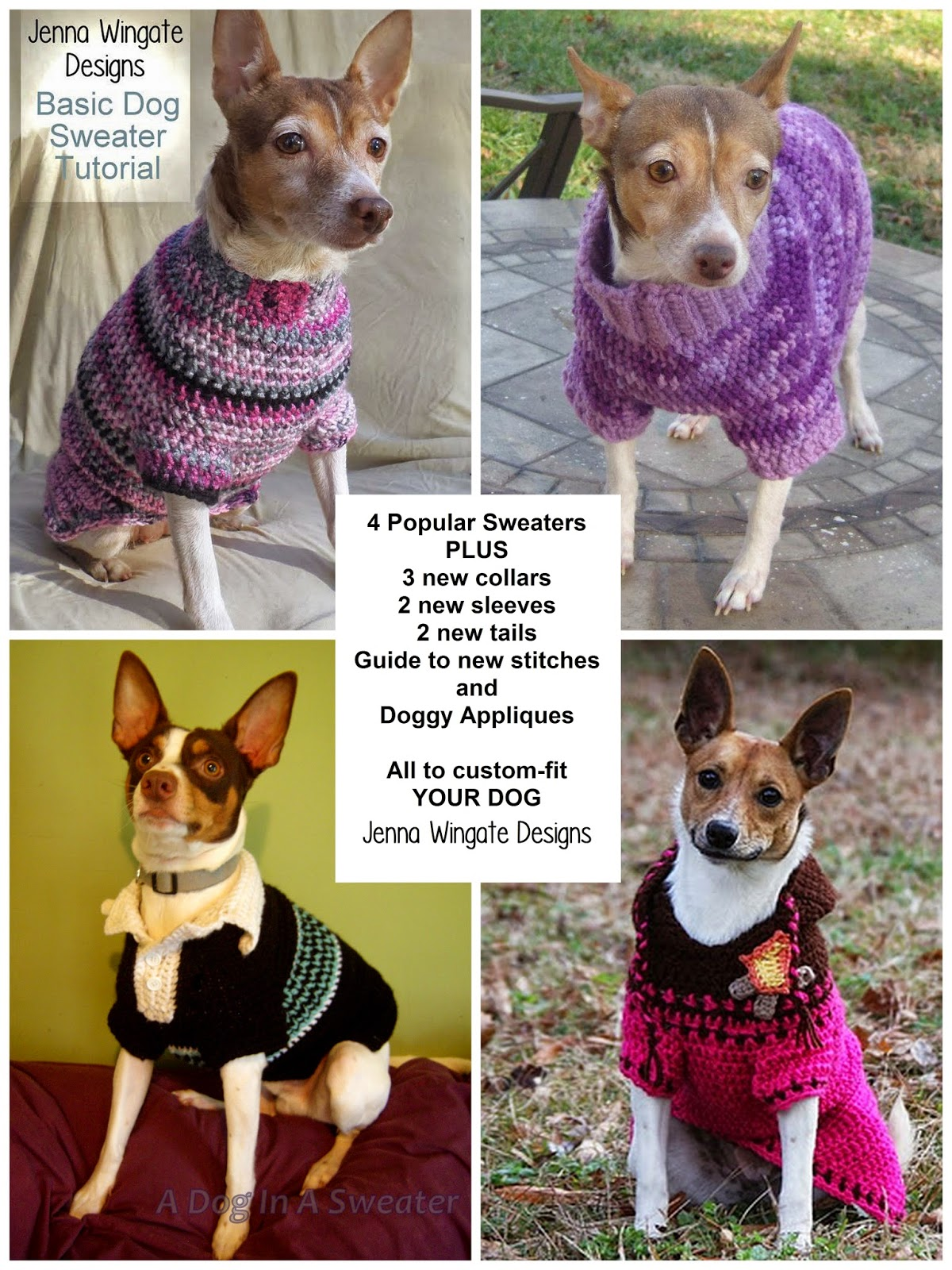 Crochet a Spring Sweater for Your Dog – free patterns ...
