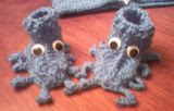 Sea Creature Booties 2