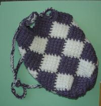 Entrelac Crochet Free Patterns Grandmother S Pattern Book
