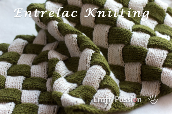Entrelac Knitting   try something new and beautiful!   free patterns   Grandm...