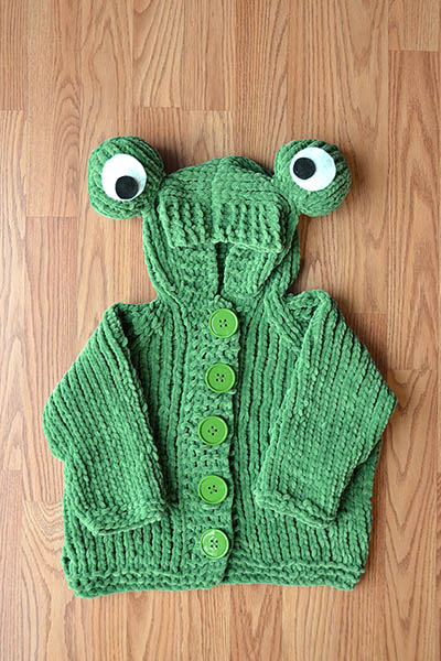 Knitted Frog Pattern : Knit a frog   free patterns   Grandmothers Pattern Book