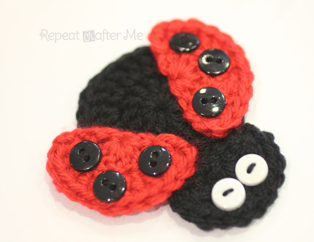 Ladybugs To Crochet Free Patterns Grandmothers Pattern Book