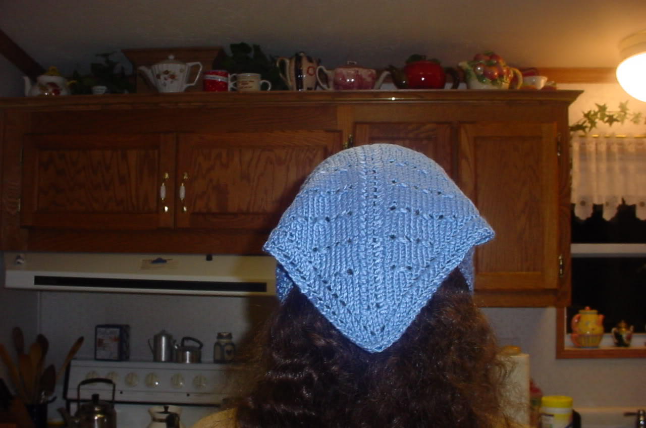 Knit Snoods, Hair/Head Coverings – free patterns – Grandmother\'s ...